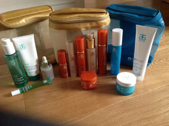 Arbonne Trial Creams Product Image
