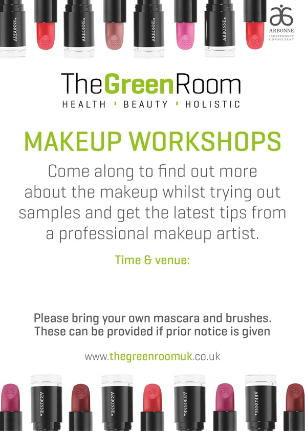 A4 Green Room Makeup Poster