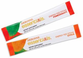 Arbonne Energy Fizz Sticks