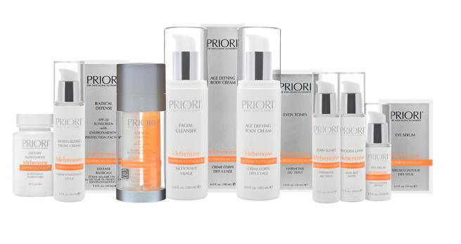 Priori Skincare Anti-Aging Products