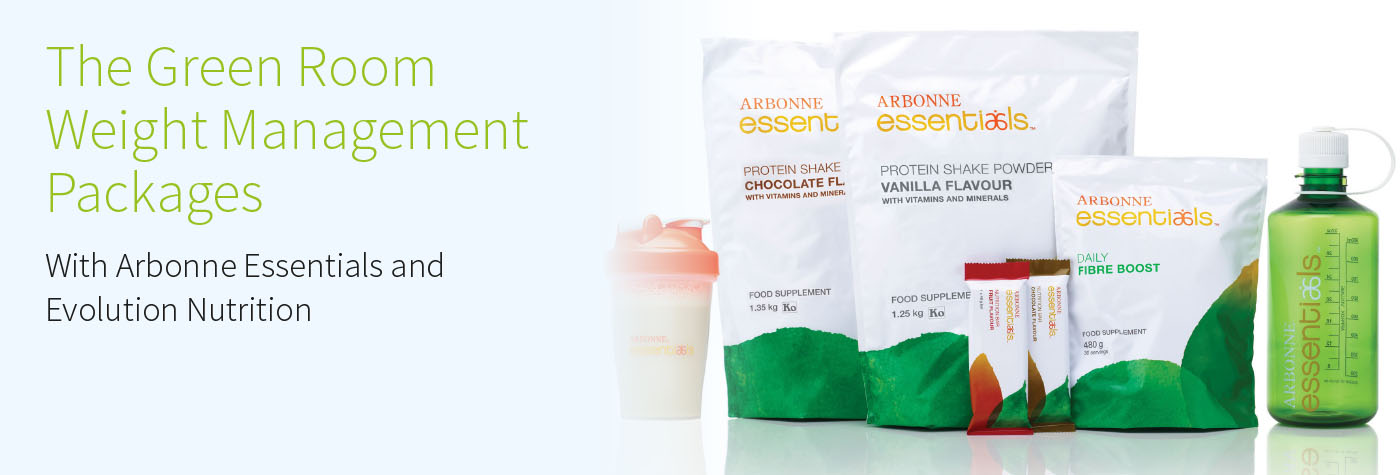 Arbonne Weigh Loss Products Image at The Green Room