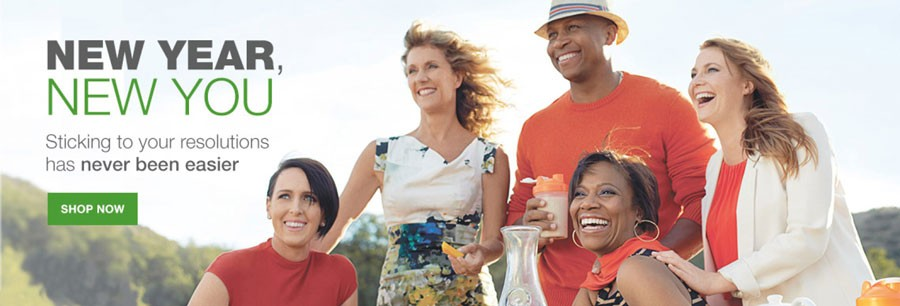 Image of healthy people using Arbonne products